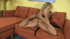 Blonde babe Adriana Sephora gets a buzz out of raw sex in HD