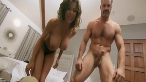 Sucking cock on live cam together with mature Alexis Fawx