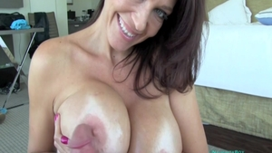 Busty MILF Charlee Chase needs receiving facial cum loads