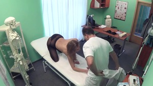 Doctor rides a hard dick