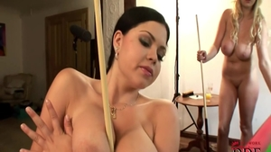 Big boobs Shione Cooper got her pussy smashed