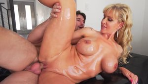 Big tits babe Ryan Conner goes in for loud sex