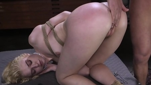 Bondage in the company of girl