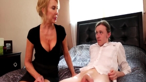 Big boobs GILF Erica Lauren rough bends to get fucked