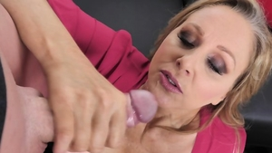 Blonde haired wishes for hard pounding