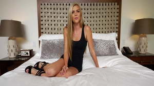 Small boobs blonde haired hardcore roleplay in hotel
