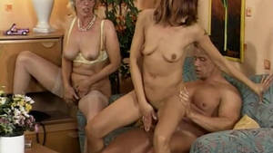 Real sex together with german MILF