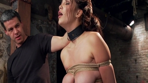 Holly Michaels in submissive rough fingering