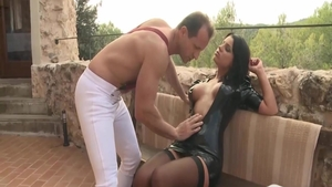 Anal fucking video with very sexy rough Angel Rivas