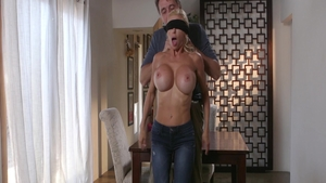 Masturbating Alexis Fawx together with Steve Holmes