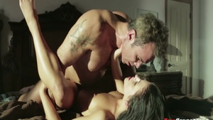 Brutal deepthroat along with big tits pornstar Adriana Chechik