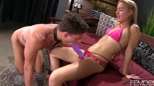 Femdom together with small tits domme Lilly Ford