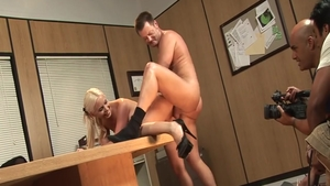 Brooke Haven escorted by star Heidi Mayne doggy fucking