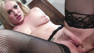 Large tits and busty Dahlia Sky cum on face