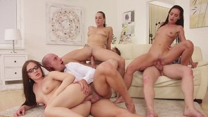Swinger Mea Melone crazy orgy