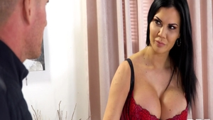 Mature Jasmine Jae beside Connie Carter ass pounding