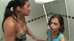 Alessandra Marques submissive licking ass