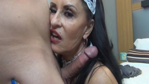 Rough real sex along with very hawt stepmom Rita Daniels