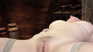 Bondage in the company of busty blonde Penny Pax