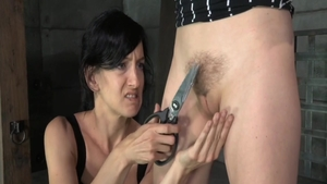 Hard pounding along with young Elise Graves