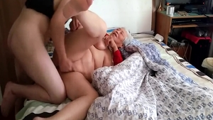 Large tits chinese mature creampie HD