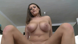 Big boobs MILF goes in for sucking dick HD