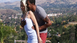 Slamming hard together with young blonde Elsa Jean