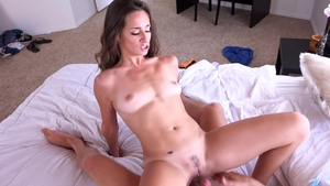 Nailed rough together with young brunette Cassidy Klein