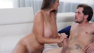 Big tits stepmom Ava Addams goes for slamming hard HD