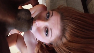 Hardcore blowjobs along with super hot babe Rose Red