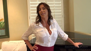 Big tits stepmother Alexis Fawx enjoys greatly blowjobs HD