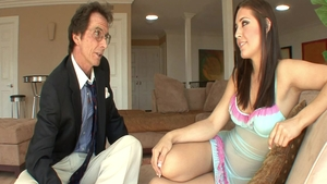 Kinky young babe Gracie Glam raw pussy fuck
