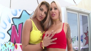 Nina Elle & Mercedes Carrera rimming