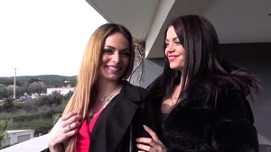 Fantasy threesome in the company of gorgeous french 18 yr old