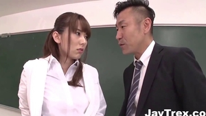Big boobs stepmom Yui Hatano ass pounded in HD