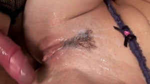Amateur Savannah Gold cum in mouth