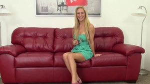 Busty girl Cherie Deville feels up to nailed rough HD