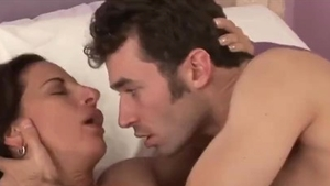 Plowing hard with large boobs Melissa Monet & James Deen