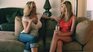 Molly Bennet along with Molly Bennett in jeans pussy fucking