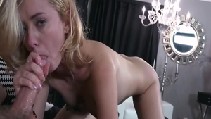 Super sexy and young Haley Reed blowjob