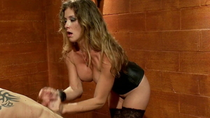 Dominatrix fetish spanking