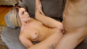 Plowing hard besides hot pornstar Emma Hix