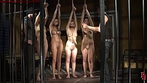 Bondage besides desperate female