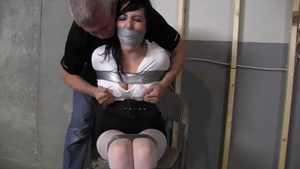 Tied up in company with MILF