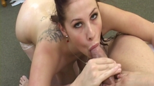 Gianna Michaels in sexy stockings cumshot