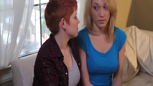 Romantic nailing escorted by Lily Cade & Lily Labeau