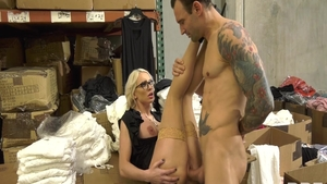 Beautiful MILF Kenzie Taylor rough seduced ass fucked