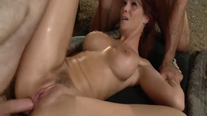 Anal fucks sex scene accompanied by wild art Syren De Mer