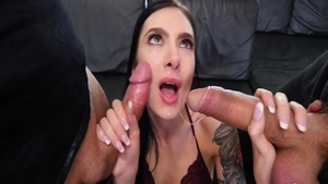 Pussy sex along with young babe Marley Brinx