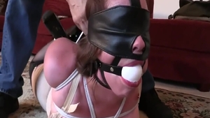 BDSM with glamour supermodel